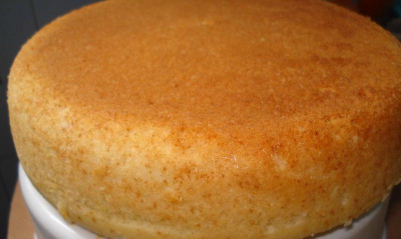 Бисквит в духовке пошагово