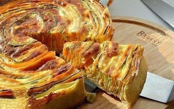 Пирог овощной рецепты