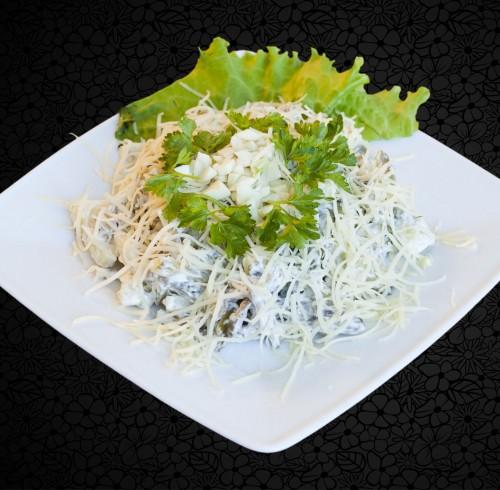 Салат мужской каприз с картошкой рецепт