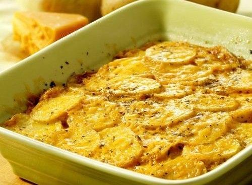 Запеканка из картофеля и грибами рецепт