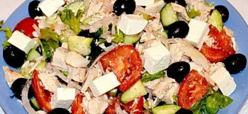 Греческий салат из пекинской капусты рецепты с