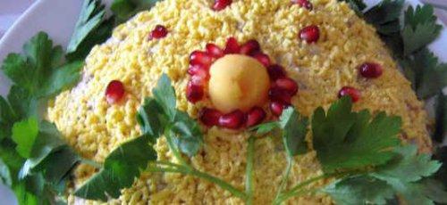 Мимоза салат на поваренок