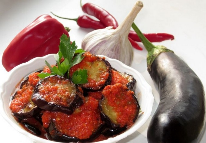 Баклажаны по херсонски рецепт с фото