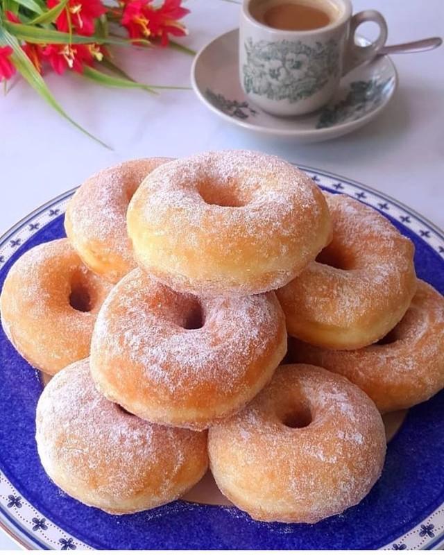 пышные пончики рецепт пошаговый с фото это время токийском