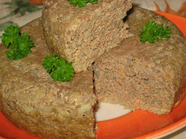 рецепт печеночный суфле