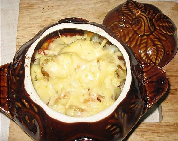 горшочках рецепты блюда с фото пельменей из в