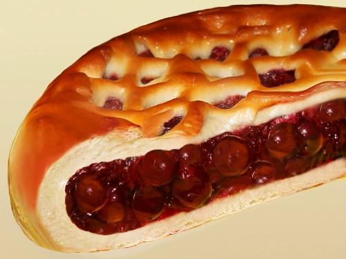 пироги с вишней из дрожжевого теста рецепт с фото