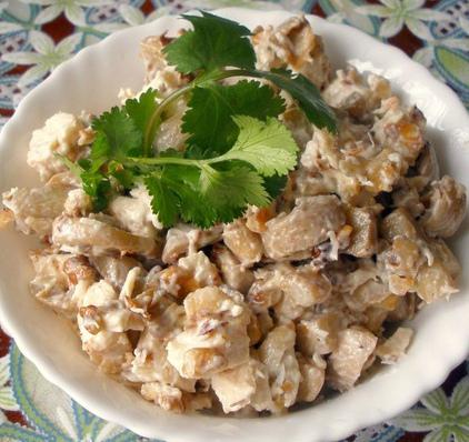 Салаты сытные пошаговый рецепт 11