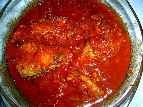 рыба в томате рецепт с фото